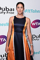 LONDON, UK. June 28, 2019: Garbine Muguruza arriving for the WTA Summer Party 2019 at the Jumeirah Carlton Tower Hotel, London.<br /> Picture: Steve Vas/Featureflash
