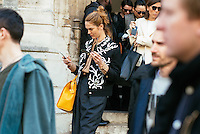JJ Martin at Paris Fashion Week (Photo by Hunter Abrams/Guest of a Guest)