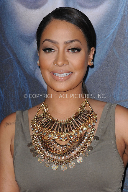 WWW.ACEPIXS.COM<br /> December 8, 2014 New York City<br /> <br /> LaLa Anthony attending the World Premiere of 'Into the Woods' at the Ziegfeld Theatre on December 8, 2014 in New York City.<br /> <br /> Please byline: Kristin Callahan/AcePictures<br /> <br /> Tel: (212) 243 8787 or (646) 769 0430<br /> e-mail: info@acepixs.com<br /> web: http://www.acepixs.com