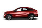 Car Driver side profile view of a 2017 Mercedes Benz GLE-Coupe AMG-43 2 Door SUV Side View