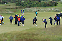 Linn Grant (SWE) on the 18th fairway during Matchplay Semi-Finals of the Women's Amateur Championship at Royal County Down Golf Club in Newcastle Co. Down on Saturday 15th June 2019.<br /> Picture:  Thos Caffrey / www.golffile.ie