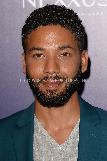 WWW.ACEPIXS.COM<br /> May 11, 2015 New York City<br /> <br /> Jussie Smollett attending the Entertainment Weekly and People celebration of The New York Upfronts at The Highline Hotel onMay 11, 2015 in New York City.<br /> <br /> Please byline: Kristin Callahan/AcePictures<br /> <br /> Tel: (646) 769 0430<br /> e-mail: info@acepixs.com<br /> web: http://www.acepixs.com