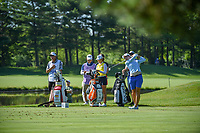 Carlota Ciganda (ESP) watches her tee shot on 3 during round 1 of the 2018 KPMG Women's PGA Championship, Kemper Lakes Golf Club, at Kildeer, Illinois, USA. 6/28/2018.<br /> Picture: Golffile | Ken Murray<br /> <br /> All photo usage must carry mandatory copyright credit (&copy; Golffile | Ken Murray)