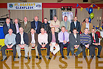 The Glenflesk 1973 Junior minor championship winning team that was honoured in the Killarney Heights hotel on Friday night front row l-r:Freddie Bartlett, Sean O'Sullivan, Jerry Murphy, Donal McCarthy, Dan Joe Sullivan, Val Lynch, Donal O'Doherty, Padraig Spillane, Padraig cashman. Back row: Brendan Walsh, Jer O'Donoghue, Pat Healy, Denis O'Sullivan, Tom Lyne, Paddy Doherty, Donal Doherty, Michael cashman, Gerard O'Donoghue.....