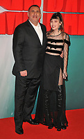Graham King and guest at the &quot;Tomb Raider&quot; European film premiere, Vue West End cinema, Leicester Square, London, England, UK, on Tuesday 06 March 2018.<br /> CAP/CAN<br /> &copy;CAN/Capital Pictures