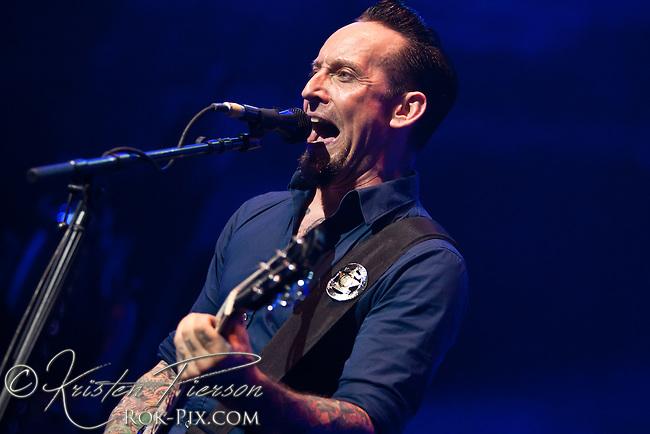 Volbeat performs at Mohegan Sun Arena September 28 2014