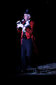 Zippos's Circus at Victoria Park - Glasgow - Ringmaster Norman Barrett - picture by Donald MacLeod - 27.6.12 - 07702 319 738 - clanmacleod@btinternet.com - www.donald-macleod.com