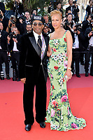 Spike Lee &amp; Tonya Lewis at the closing gala screening for &quot;The Man Who Killed Don Quixote&quot; at the 71st Festival de Cannes, Cannes, France 19 May 2018<br /> Picture: Paul Smith/Featureflash/SilverHub 0208 004 5359 sales@silverhubmedia.com