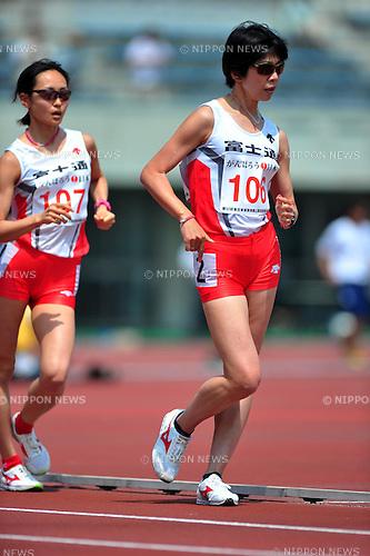 Mayumi Kawasaki (JPN), MAY 21st, 2011 - Athletics : The 53th East Japan Industrial Track and Field Women's Walk 5000m at Kumagaya Athletic Stadium, Saitama, Japan. (Photo by Jun Tsukida/AFLO SPORT) [0003]
