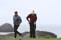 Ronan Cross (Ballybunion) on the 4th tee during the Munster Final of the AIG Junior Cup at Tralee Golf Club, Tralee, Co Kerry. 13/08/2017<br /> Picture: Golffile | Thos Caffrey<br /> <br /> <br /> All photo usage must carry mandatory copyright credit     (&copy; Golffile | Thos Caffrey)