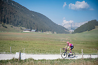 Hugh Carthy (GBR/EF) at the gravel section atop the Montée du plateau des Glières (HC/1390m)<br /> <br /> Stage 18 from Méribel to La Roche-sur-Foron (175km)<br /> <br /> 107th Tour de France 2020 (2.UWT)<br /> (the 'postponed edition' held in september)<br /> <br /> ©kramon