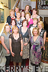 Kerrys Eye columnist Breda Joy pictured with Jess Hargreaves, Siobhan Joy O'Meara, Deirdre Fleming, Noreen Martin, Veronica Joy, Mary Herlihy, Mary McShortell, Lily Shaughnessy, Geraldine Cunningham, Mary Looney, Mary Nolan, Ann Casey and Nirka O'Leary, as she celebrated her 50th birthday in the Dromhall hotel on Saturday night.....