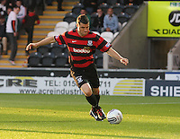 Austin McCann in the St Mirren v Ayr United Scottish Communities League Cup match played at St Mirren Park, Paisley on 29.8.12.