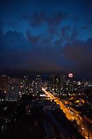 Vista da Mundurucus esquina com a 3 de maio bairro da Cremação.<br /> Belém, Pará, Brasil.<br /> Foto Paulo Santos<br /> 11/10/2014