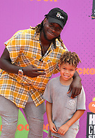 LOS ANGELES, CA July 13- Jay Ajayi, At Nickelodeon Kids' Choice Sports Awards 2017 at The Pauley Pavilion, California on July 13, 2017. Credit: Faye Sadou/MediaPunch