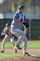 April 14, 2010:  Pitcher Gavin Black of the Buffalo Bulls during a game at Sal Maglie Stadium in Niagara Falls, NY.  Photo By Mike Janes/Four Seam Images