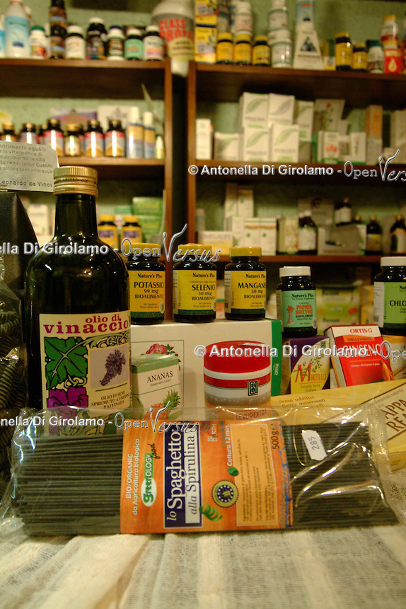 Integratori alimentari. Food Supplements.