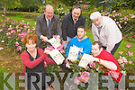 Feile na Blath, Tralee's Garden Festival takes place from Friday June 15th to Sunday 17th with lots of activities for all the family. From front l-t were: Maryanne Keane, Chris Shortt, Jason Brick. Back l-r were: John Griffin, Johnny Sheehan and Johnny Wall.