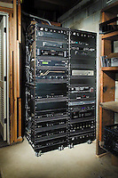 Wheeled Equipment Racks With Total Operating System