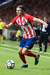 Atletico de Madrid's Filipe Luis during La Liga match between Atletico de Madrid and Malaga CF at Wanda Metropolitano in Madrid, Spain September 16, 2017. (ALTERPHOTOS/Borja B.Hojas)