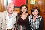 Mark Woodhead, Rieta Van Der Werff and Rosaleen McHugh at the SOSAD BBQ Night in McPhails...(Photo credit should read Jenny Matthews www.newsfile.ie)....This Picture has been sent you under the conditions enclosed by:.Newsfile Ltd..The Studio,.Millmount Abbey,.Drogheda,.Co Meath..Ireland..Tel: +353(0)41-9871240.Fax: +353(0)41-9871260.GSM: +353(0)86-2500958.email: pictures@newsfile.ie.www.newsfile.ie.
