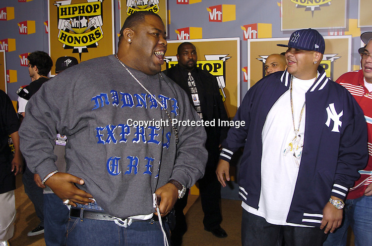 Biz Markie and Fat Joe ..at the 2nd Annual VH1 Hip Hop Honors taping on ..September 22, 2005 which will air on VH1 on September 26, 2005. ..Photo by Robin Platzer, Twin Images