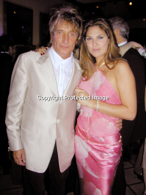 Rod Stewart &amp; Daisy Fuentes<br />
