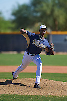 San Diego Padres pitcher Henry Henry (23) during an instructional league game against the Texas Rangers on October 9, 2015 at the Surprise Stadium Training Complex in Surprise, Arizona.  (Mike Janes/Four Seam Images)