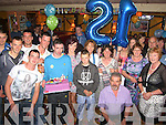 """1st Birthday; Rory Flahive, Derra, Asdee. and friends at The Exchange Bar,Ballybunion for his 21st' Birthday on Saturday."
