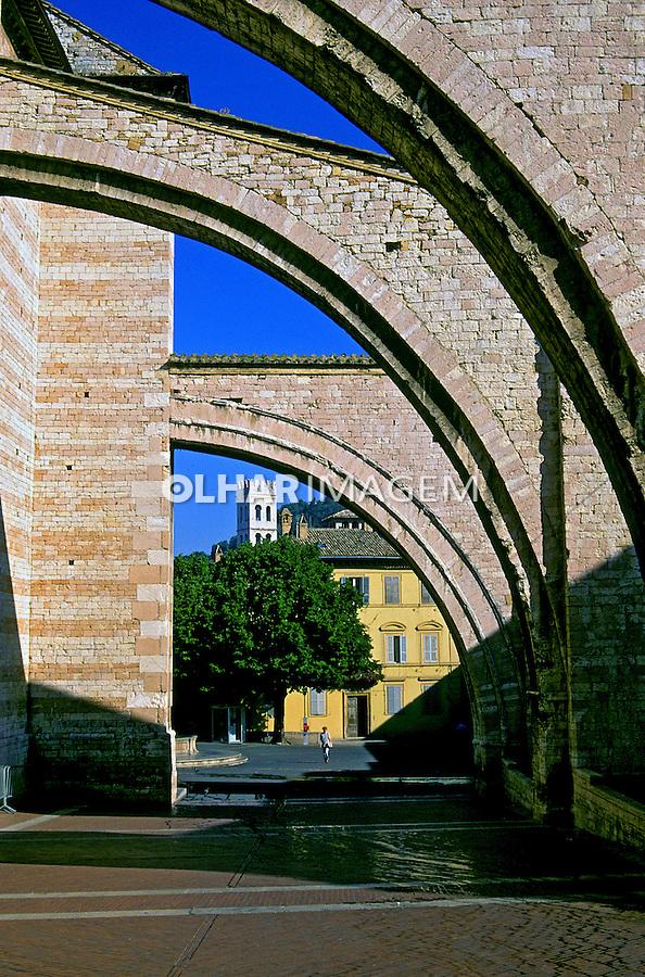 Cidade de Assis. Itália. 1999. Foto de Vinicius Romanini.