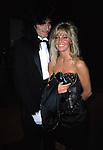 Heather Locklear and Tommy Lee Attending the APLA Aids Benefit, Los Angeles, California. September 1,1985