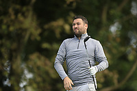 Jason Galway (Lee Valley ) during the final of the Irish Mid-Amateur Open Championship, Royal Belfast Golf CLub, Hollywood, Down, Ireland. 29/09/2019.<br /> Picture Fran Caffrey / Golffile.ie<br /> <br /> All photo usage must carry mandatory copyright credit (© Golffile   Fran Caffrey)