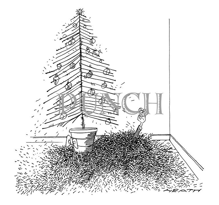 Christmas Tree Needles: Punch Cartoons By Michael Heath