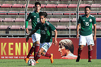 Diego Lainez Leyva of Mexico, who was named best player of the Tournament at the Awards ceremony at the final whistle during Mexico Under-21 vs England Under-21, Tournoi Maurice Revello Final Football at Stade Francis Turcan on 9th June 2018