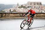 Brandon McNulty (USA) Rally UHC Cycling attacks during Stage 3 of Il Giro di Sicilia running 186km from Caltanissetta to Ragusa, Italy. 5th April 2019.<br /> Picture: LaPresse/Fabio Ferrari | Cyclefile<br /> <br /> <br /> All photos usage must carry mandatory copyright credit (© Cyclefile | LaPresse/Fabio Ferrari)