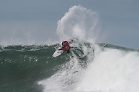 BELLS BEACH, Torquay, Victoria, Australia (Friday, March 30, 2018) Gabriel Medina (BRA)  - The opening rounds of the Rip Curl Pro Bells Beach, Stop No. 2 on the World Surf League (WSL) Championship Tour (CT), was called ON today in three-to-four foot (1 - 1.8 metre) conditions at Winkipop. Women&rsquo;s Round 1 will kicked off the competition starting at 8:55 a.m. local time, followed by men&rsquo;s Round 1. <br /> All of Round 1 of the women was completed and eight heats of the men's was run before the contest was called off for the day<br /> <br /> &ldquo;As expected, the swell has jumped up overnight and we have great conditions on the Surf Coast today,&rdquo; said WSL Commissioner, Kieren Perrow. &ldquo;With a morning high tide, we are seeing slow conditions at Bells Beach but have solid waves coming through at Winkipop. We are going to start with women&rsquo;s Round 1 followed by men&rsquo;s Round 1 at Winki, while keeping a close eye on Bells with the intention to shift back if conditions allow us to.&rdquo;<br /> Photo: joliphotos.com