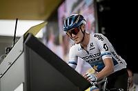 Matteo Trentin (ITA/Mitchelton-Scott)<br /> <br /> Stage 12: Toulouse to Bagnères-de-Bigorre(209km)<br /> 106th Tour de France 2019 (2.UWT)<br /> <br /> ©kramon