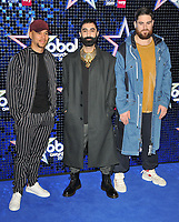 Rudimental (Kesi Dryden, Amir Amor and Piers Aggett) at the Global Awards 2019, Hammersmith Apollo (Eventim Apollo), Queen Caroline Street, London, England, UK, on Thursday 07th March 2019.<br /> CAP/CAN<br /> &copy;CAN/Capital Pictures