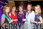 Listowel Food Fair:Enjoying the free wine at the Launch of Listowel's Food fair in the Arms Hotel on Friday night were Bernadette Hanrahan, Ballylongford, Eileen O'Sullivan, Listowel, Rita Holly, Ballybunion, Caroline Horgan, Duagh and Eleanor Hayes, Listowel.
