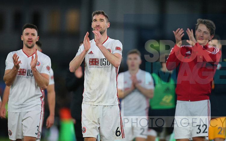 Sheffield United's Chris Basham after the Premier League match at Selhurst Park, London. Picture date: 1st February 2020. Picture credit should read: Paul Terry/Sportimage