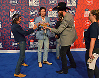 NASHVILLE, TN - JUNE 5: Cameron Duddy, Mark Wystrach, and Jess Carson attend the 2019 CMT Music Awards at Bridgestone Arena on June 5, 2019 in Nashville, Tennessee. (Photo by Tonya Wise/PictureGroup)