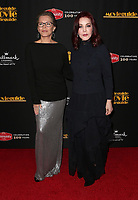 08 February 2019 - Hollywood, California - Cheryl Ladd and Priscilla Presley. 27th Annual Movieguide Awards Gala held at the Universal Hilton Hotel. Photo Credit: Faye Sadou/AdMedia
