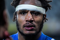 France's Benjamin Fall after the Steinlager Series international rugby match between the New Zealand All Blacks and France at Forsyth Barr Stadium in Wellington, New Zealand on Saturday, 23 June 2018. Photo: Dave Lintott / lintottphoto.co.nz
