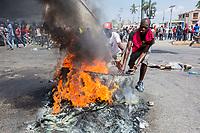 Protestas Haití