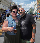 Caressa and Dylan during the 24th Annual Great Eldorado Brews and Blues Festival in Reno, Nevada on Saturday, June 15, 2019.