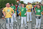 RHYTHM: The Samba Band getting the rhythm going during the parade on Sunday at the Castlegregory Summer festival.   Copyright Kerry's Eye 2008