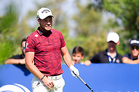 Danny Willett (ENG) on the 2nd tee during the 2nd round of the DP World Tour Championship, Jumeirah Golf Estates, Dubai, United Arab Emirates. 22/11/2019<br /> Picture: Golffile | Fran Caffrey<br /> <br /> <br /> All photo usage must carry mandatory copyright credit (© Golffile | Fran Caffrey)