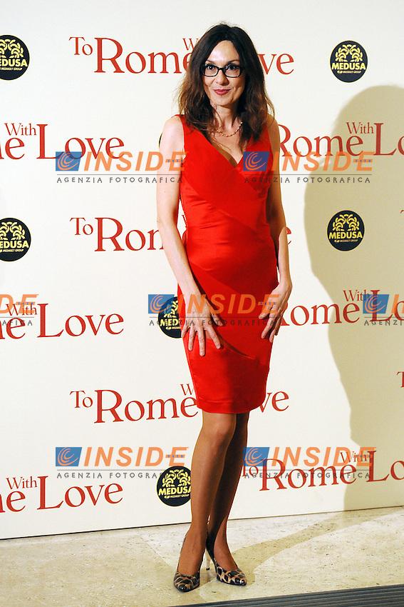 Simona Caparrini.Roma 13/4/2012 Auditorium.To Rome with Love - World Premiere.Foto Insidefoto Antonietta Baldassarre