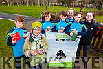 Students from CBS The Green enjoyed a cup of Fairtrade tea as part of Fairtrade Fortnight  on Thursday morning in Tralee Town Park as they took a break from planing trees. Pictured were: Jordan Foley with Sylvia Thompson (Member of Fairtrade Tralee), with Leon Hourigan, Conor Murphy, Michael Kelleher, Mark Ryall ((TY Co-ordinator) and Eugene O'Sullivan (teacher).