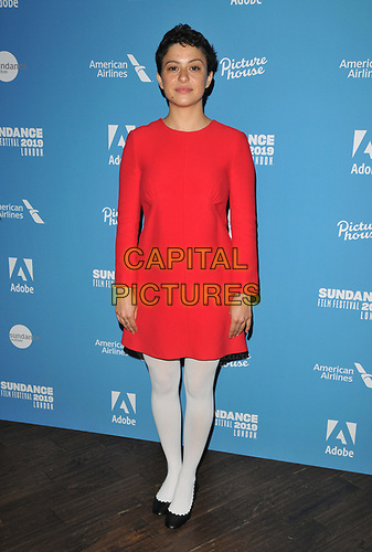 "Alia Shawkat at the ""Animals"" Sundance London film festival European premiere, Picturehouse Central, Corner of Shaftesbury Avenue and Great Windmill Street, London, England, UK, on Friday 31st May 2019.<br /> CAP/CAN<br /> ©CAN/Capital Pictures"